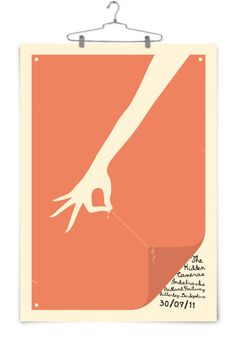 hand / string / letter / type / poster illustration