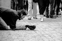 Josita Swarte Photography   street & lifestyle   beggar in the streets of Prague