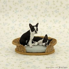 Kerri Pajutee realistic miniature animal sculptures for the dollhouse enthusiast or impassioned collector. Needle Felted Animals, Felt Animals, Cute Animals, Miniature Dogs, Miniature Crafts, Bird Sculpture, Animal Sculptures, Art And Craft Materials, Mini Dogs