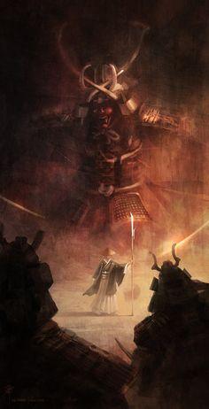 Samurai 1/3 by iancjw.deviantart.com on @deviantART