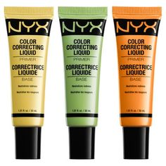 Check out our Color Correcting Liquid Primer, available in 5 different shades that glide on effortlessly so your makeup can go on stunningly.