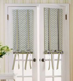 Cortinas Para Ventana De Cocina | Shades For French Doors Home Depot Roman Shades On The French