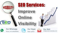Hiring a better SEO company or investing in a skilled SEO Staff could be exactly what your company needs to rank above your competitors in the google rankings. Contact us at @ seoservicestoday.com #socialmedia #searchengine #google #facebook #websitepromotion #digital #digitalmarketing #searchengineoptimization #socialmediaoptimization #branding #webdesign #android #mobileapplication #androidapp #SeoServices #SeoExpert #SeoCompany #SeoPackages #SeoFreelancer #SeoAnalysis #GoogleWebmaster…