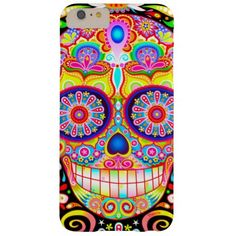 Sugar Skull iPhone 6 Plus Case. $23.97