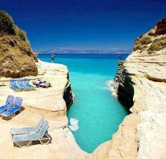 Canal D' Amour, Corfu Island