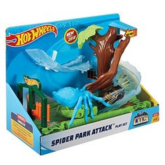 Hot Wheels City Spider Park Attack Playset Includes Diecast Car for sale online Funko Pop Display, Doodle On Photo, Speed Games, Pokemon Birthday, Backyard For Kids, Park City, Pop Tarts, Kids Toys, Snack Recipes