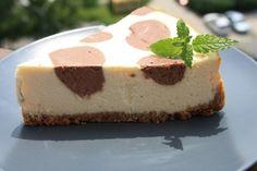 Fotorecept: Bodkovaný cheesecake z riccoty - Recept pre každého kuchára, množstvo receptov pre pečenie a varenie. Recepty pre chutný život. Slovenské jedlá a medzinárodná kuchyňa