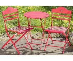 Set masa si 2 scaune exterior pentru copii Willy - Vivre