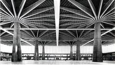 letsbuildahome-fr:    Palazzo del Lavoro, Pier Luigi Nervi, Turin, Pier Luigi Nervi, 1959-61
