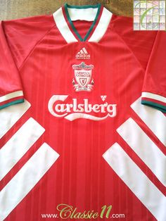 b2504cbd3 1993 94 Liverpool Home Football Shirt (L)