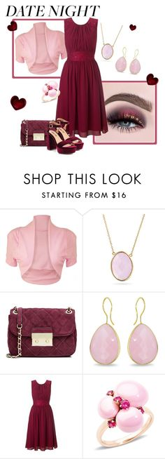"""""""date night"""" by pam-doel ❤ liked on Polyvore featuring WearAll, Bling Jewelry, MICHAEL Michael Kors, Ice, Ariella, Pomellato and Liliana"""