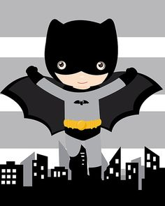 Batman wall art, superhero wall art print, shipped to your door, high quality inch print Batman Wall Art, Batman Room, Superhero Wall Art, Batman Party, Batman Birthday, Superhero Party, Posters Batman, Boy Room, Kids Room