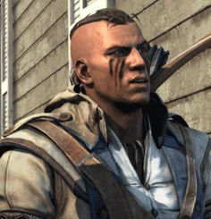 Assassins Creed 3 Ratonhnhaké:ton Connor Kenway gif
