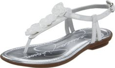 Jessica Simpson Myla Ankle-Strap Sandal (Little Kid/Big Kid) Jessica Simpson. $32.25. Manmade. Manmade sole. TPR outsole. Synthetic upper with flower detail. Let her sweet style shine in this adorable thong sandal. Adjustable buckle. Whole sizes only, half sizes order next size up