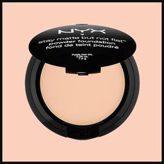 The hot summer months mean sky-high temperatures and makeup that basically melts. We'll tell you which sweatproof foundations you should add to your makeup bag this summer, like the NYX Stay Matte No Flat Powder Foundation.