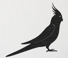 Cockatiel Bird Free DXF file