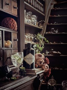 Hendrick's Chambers of the Curious Gin Bar Brussels