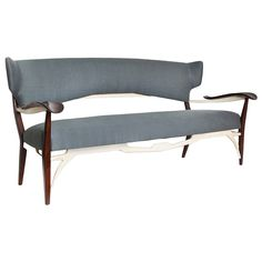 Sofa by Carlo Enrico Rava | From a unique collection of antique and modern sofas at https://www.1stdibs.com/furniture/seating/sofas/