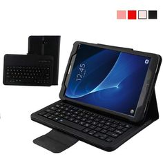 (37.20$)  Watch now - http://aitog.worlditems.win/all/product.php?id=32803227695 - Removable Wireless Bluetooth Keyboard Case for Samsung Galaxy Tab A 10.1 inch T580 PU Leather Smart Folio Cover + ABS Keypad