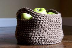 Handmade Crochet Basket  22 Colors  by HayCreekRoadBoutique, $18.00