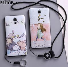 For Xiaomi 4 Case Cartoon Eiffel Tower Matte TPU Soft Case For Xiaomi MI 4 MI4 M4 Silicone Case Cover Black + Lanyard #Affiliate