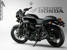 2016 Honda CB1100 Info / Custom Concept Motorcycle - Vintage / Retro Cafe Racer Style Bike   CB1100 EX / Deluxe