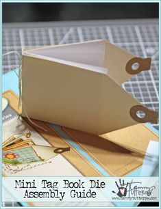 Assembly Guide: Mini Tag Book http://tammytutterow.com/2016/12/assembly-guide-mini-tag-book/