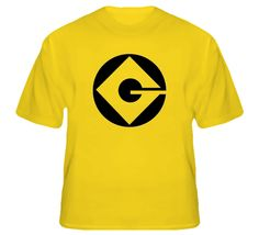 Gru Industries - Despicable Me Minion Halloween Costume T Shirt