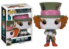 I NEED THIS IN MY LIFEEE!!! Pop! Disney: Alice in Wonderland (Live Action) - Mad Hatter | Funko