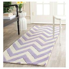 Dalton Textured Rug - Lavender / Ivory (2'6 X 12') - , Purple/Ivory, Safavieh