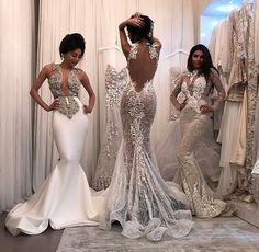 10 Elegant Mermaid Wedding Dresses - Fashion, Home decorating Dream Wedding Dresses, Bridal Dresses, Wedding Gowns, Bridesmaid Dresses, Prom Dresses, Mermaid Wedding Dress Bling, Diamond Wedding Dress, Diamond Dress, Luxury Wedding Dress
