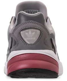 06e82adb126 adidas Women's Originals Falcon Suede Casual Sneakers from Finish Line -  Gray 8 Finishlijn, Adidas