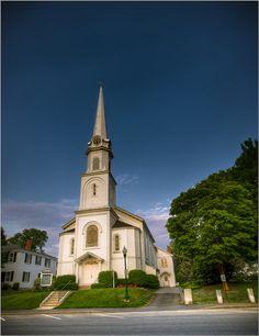 Chesnut Street Baptist Church  Camden, Maine