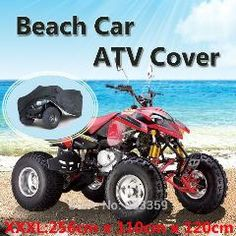 [ 20% OFF ] Atv Cover Beach Car Motorcycle Cover Waterproof Dustproof Size Xxxl:256*110*120Cm