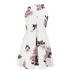 Skeltuko gero idėja!!! Cameo The Label Women's Nightswim Skater Dress - Ivory Bouquet