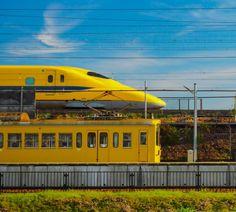 「近江鉄道とドクターイエロー」