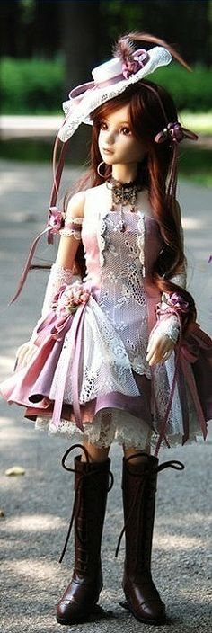 steampunk doll  ||  divinas