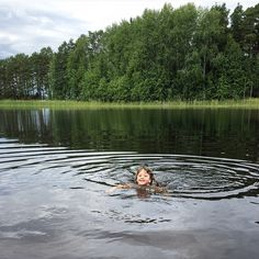 Swimming Lessons. (bunne, bollnäs, sweden)