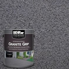 BEHR Premium 1 gal. #GG-08 Galaxy Quartz Decorative Concrete Floor Coating