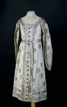 Infant Court Dress Russia. 1900s Silk, silver threads, tulle; L. 83 cm Source of Entry:   State Museum of Ethnography of the Peoples of the USSR, Leningrad. 1941   The State Hermitage Museum: Digital Collection -- Powered by IBM