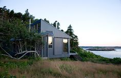 For those of us who dream about living a quiet life in a remote region of our planet, this tiny cabin has demonstrated exactly what that might look like.  Alex Porter, of Alex Scott Porter Design, helped design and build this lovely cabin on a coastal island in Maine for her father. Alex's father, …