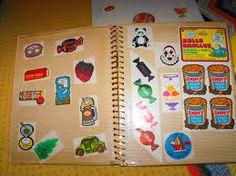 80's stickers album