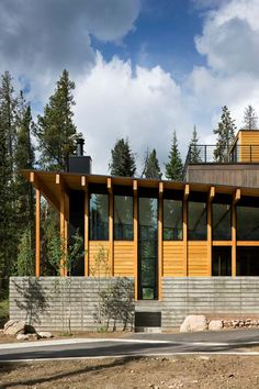 Copper Mountain home by substance Architecture.  #dreamhouseoftheday