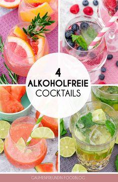Cocktails Virgin, Cocktail Drinks, Cocktail Recipes, Cocktail Shaker, Cocktail Mix, Smoothie Drinks, Smoothie Bowl, Smoothie Recipes, Smoothies