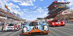 Steve McQueen in Le Mans - Salon RétroMobile!!! Steve McQueen in Le Mans Une bande-dessinée, adaptée du film « Le Mans » de 1971, devrait voir le jour en décembre 2016.