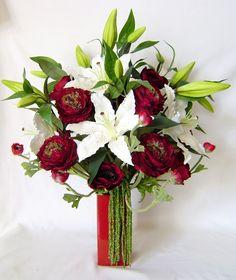 Scented Silk Flower Arrangements..