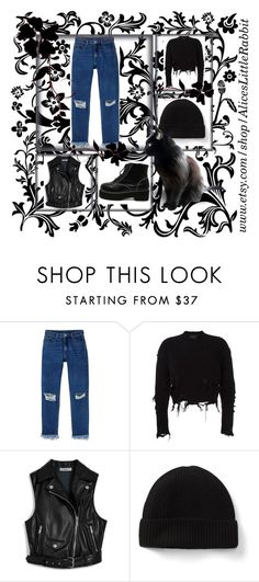"""Bez tytułu #10"" by nvtixprincess on Polyvore featuring moda, Monki, adidas Originals, Mulberry i WithChic"