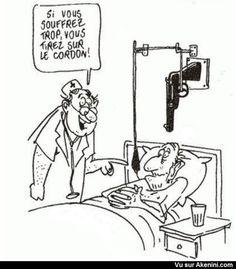 Humour Noir N°7870 - C'est radical contre la douleur