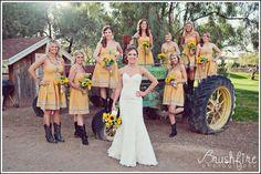 Attire - Bride And Bridesmaid Attire