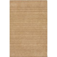"Tonal Solid 100% Wool Accent Rug - Linen (3'6""x5'6"")"